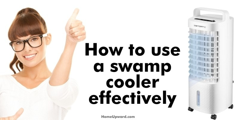 how to use a swamp cooler effectively