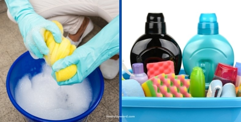 safe cleaning products and items you'll need