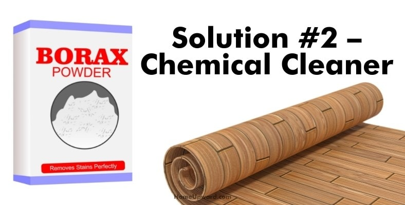 solution #2 – chemical cleaner