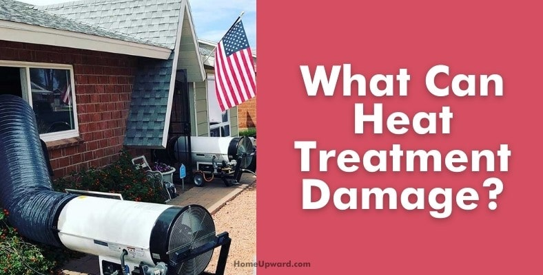 what can heat treatment damage