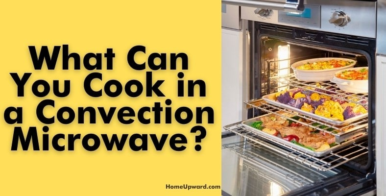 what can you cook in a convection microwave