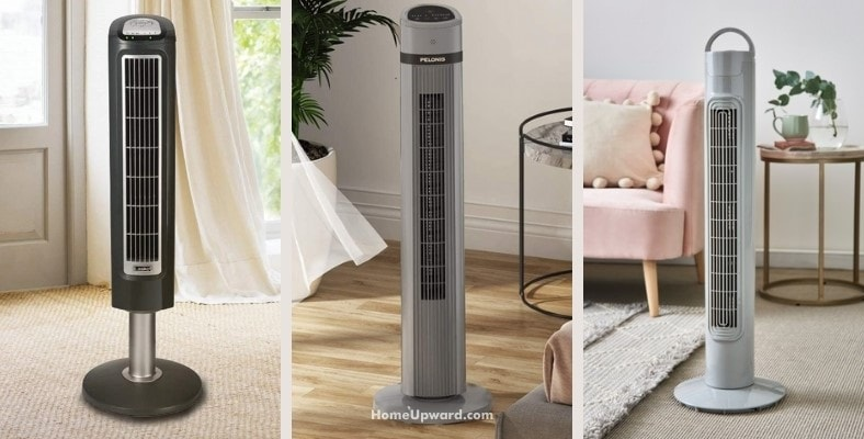 what does an oscillating tower fan do