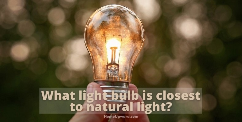 what light bulb is closest to natural light