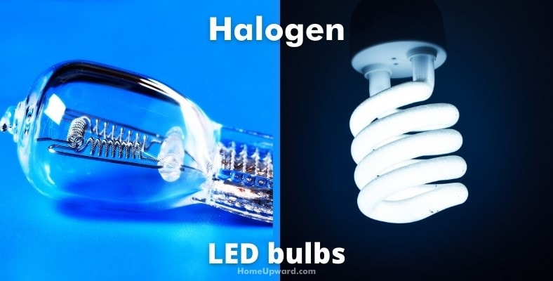 what's the difference between halogen and led bulbs