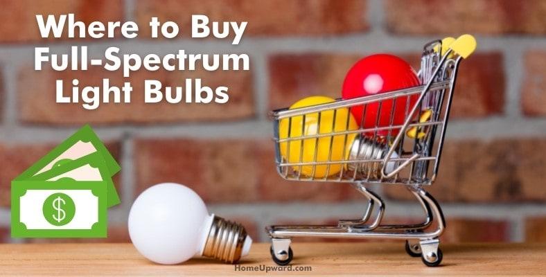 where to buy full spectrum light bulbs