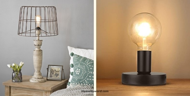 can you use a lamp without a shade