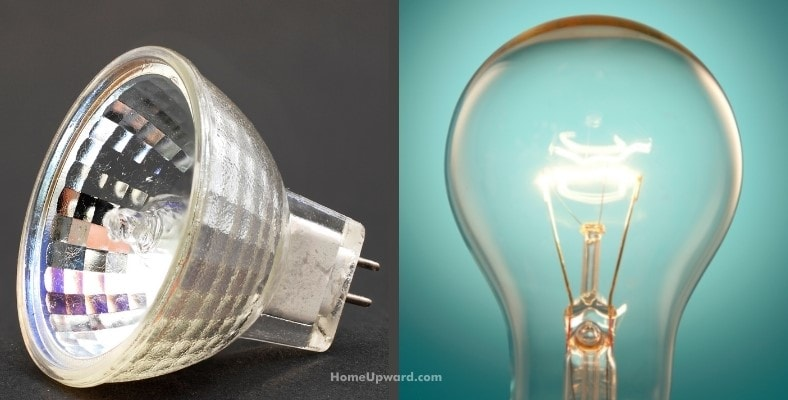 do halogen lamps consume more electricity than a regular light bulb lamp