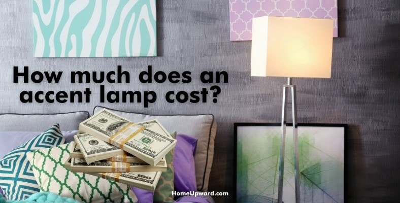 how much does an accent lamp cost