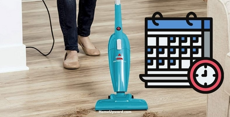 how often should you clean and vacuum hardwood floors
