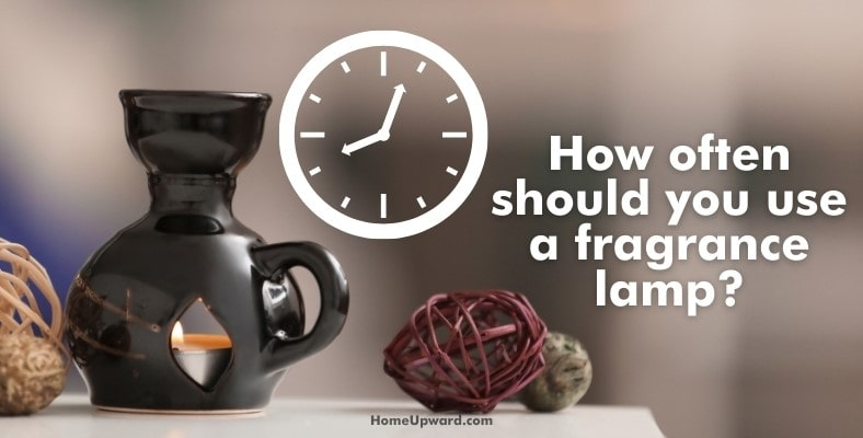 how often should you use a fragrance lamp