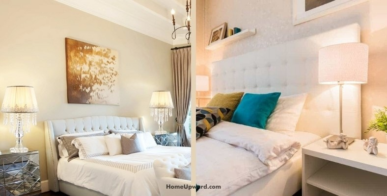 how tall should a bedside lamp be