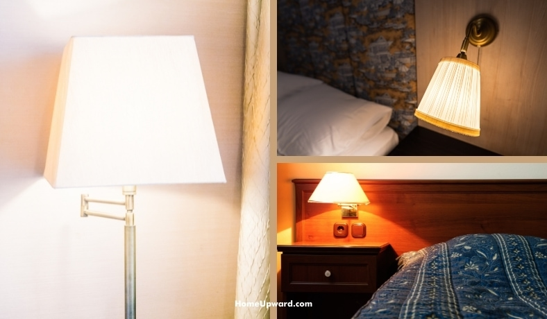 how tall should the lamp in a bedroom be featured image