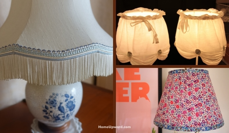 how to clean a fabric lampshade featured image