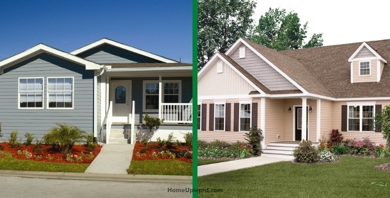 how to tell manufactured homes from modular homes