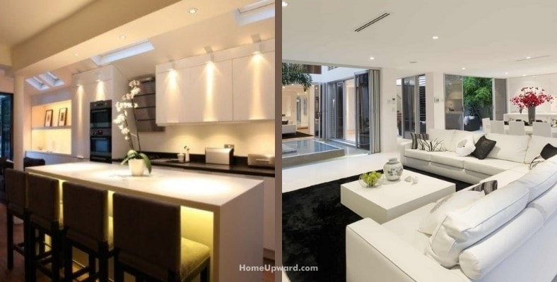 is daylight or soft white better lighting for a room