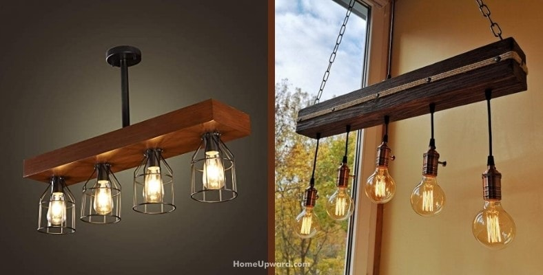 what are rustic lighting fixtures