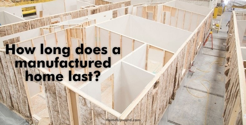 what are the walls in manufactured homes made of
