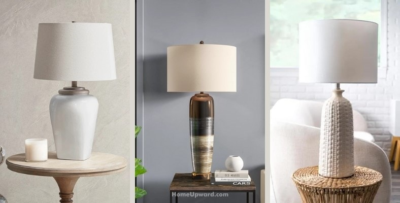 what are transitional table lamps