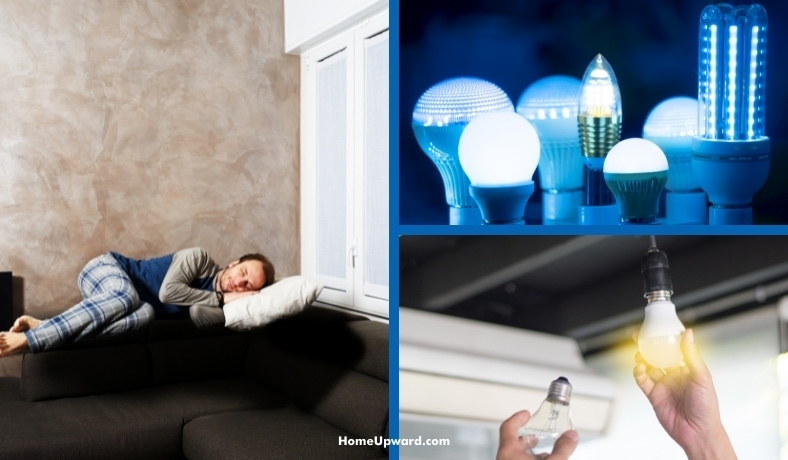 what color led lights helps you sleep featured image