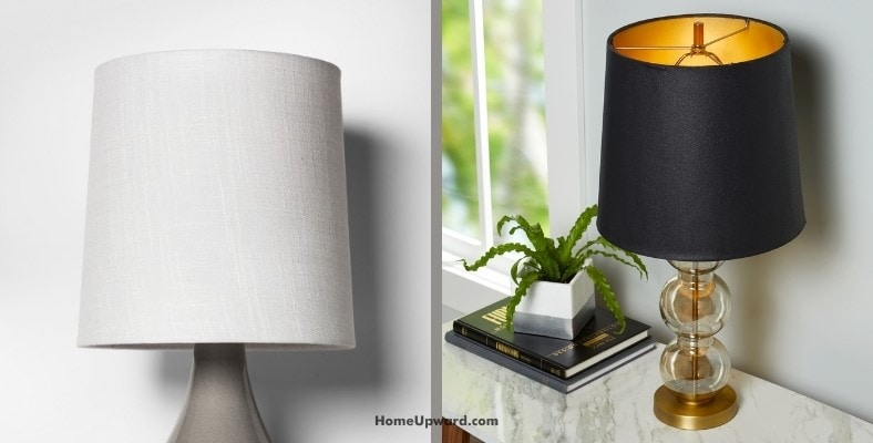 what type of lamp shade gives the most light