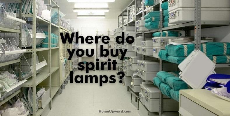 where do you buy spirit lamps