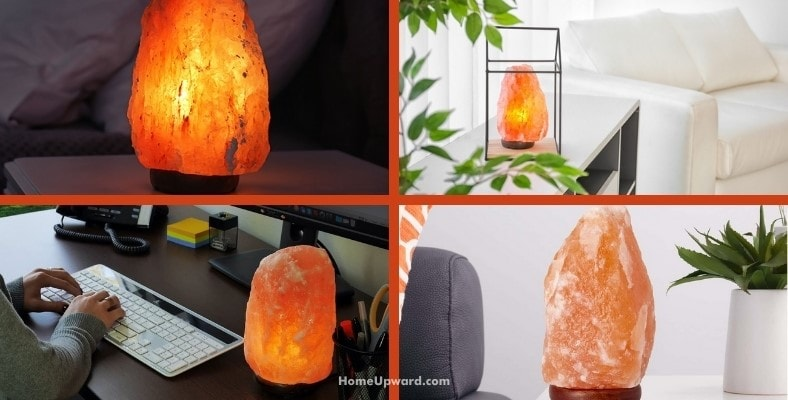 where should salt lamps be placed for the best results