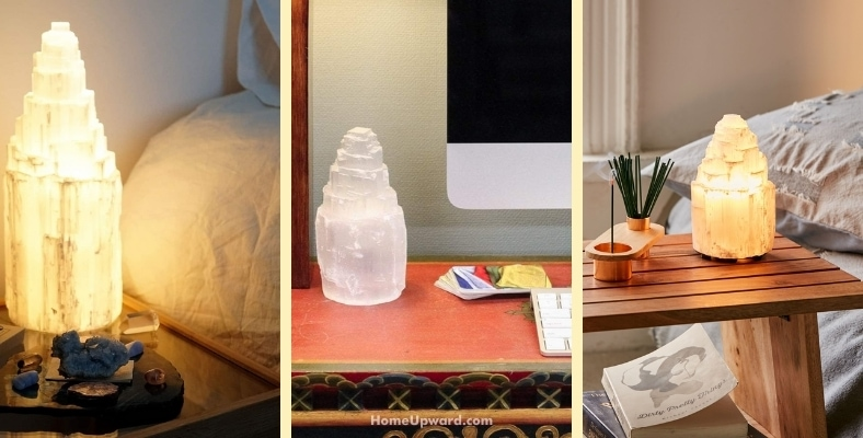 where should selenite be placed in the home